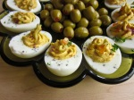 Finished Deviled Eggs